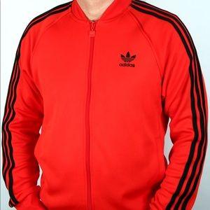 Adidas black red XL JACKET track